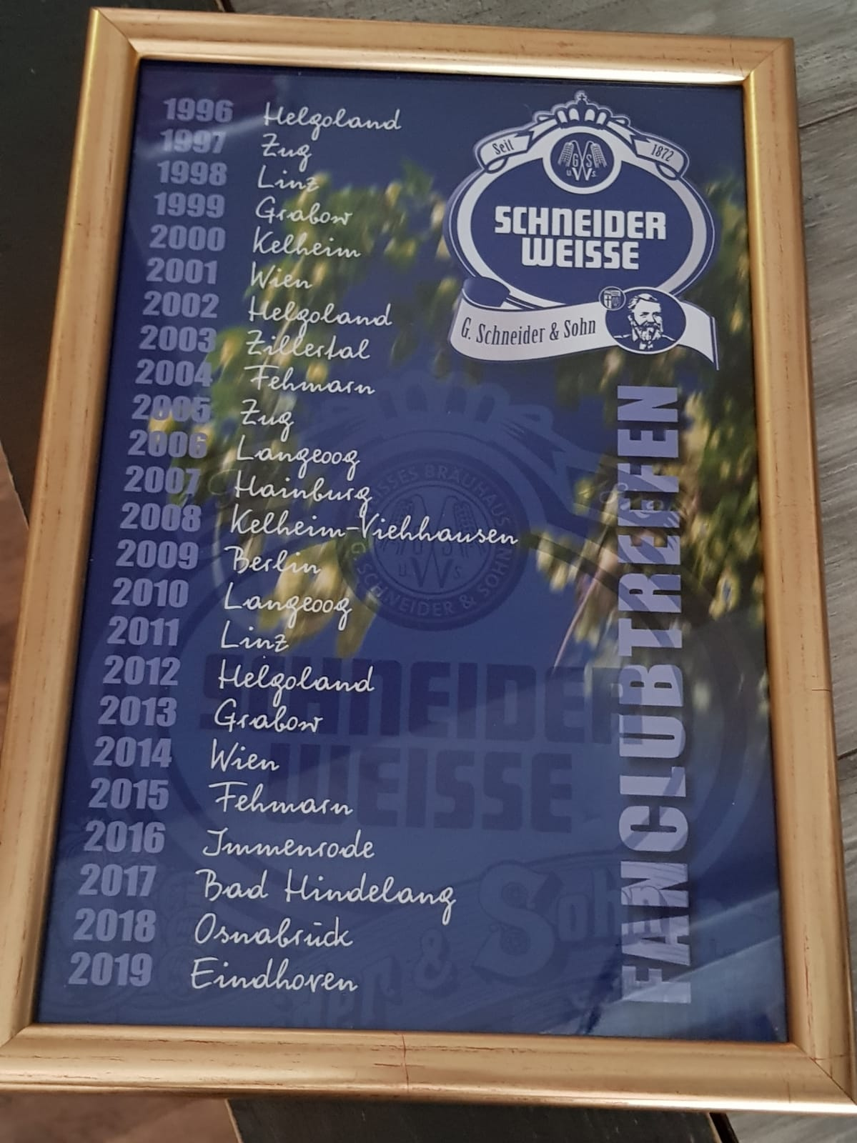 Schneider Weisse Fanclubtreffen My Adventures In The World Of Beer