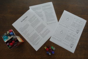 Board Game: Six sided stout