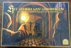 Board game: Het geheim van Grimbergen (The secret of Grimbergen)